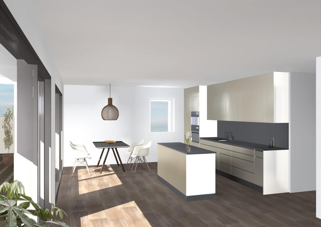 160823 Visualisierung Küche